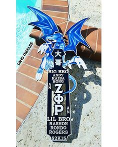 Blue Eyes White Dragon!  #sororitypaddle #greekpaddle#sororitypaddles #paddles #paddle #frat #frats #fratlife #GreekLife #fraternity #Sorority #sororitylife #custompaddles #zetaphirho #ΖΦΡ #blueeyeswhitedragon  For inquiries and orders: ✉ Dang Paddles on Facebook (preferred) ✉ DangPaddles@Gmail.com ⛵ Shipping available