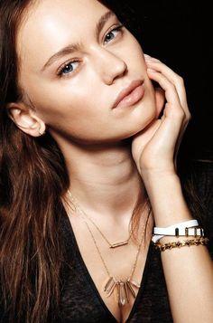 gold necklace Rebel Cluster