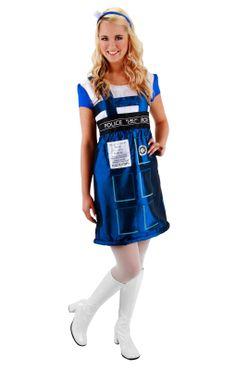 "TARDIS!!! @Kat Ellis Hogan, any halloween ideas yet? I'm sure you can ""sex"" this one up"