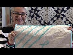 She Sews 3 Layers Of Fabric And Next She Uses A Product Making It Look Like Chenille! - DIY Joy