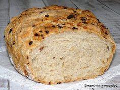 GRUNT TO PRZEPIS!: Cebulowy chleb z naczynia żaroodpornego Banana Bread, Bakery, Cooking, Desserts, Recipes, Lovers, Christmas, Bread, Yule