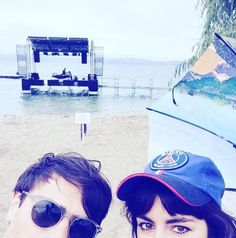 Lilly Wood and The Prick wearing Paris Saint-Germain cap!