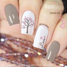 Pin on Nail Polish Pin on Nail Polish Trendy Nail Art, Stylish Nails, Nail Art Designs Videos, Nail Designs, Nail Manicure, Gel Nails, Nail Polish, Tape Nail Art, Best Acrylic Nails