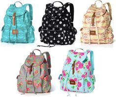 Victoria's Secret bookbags...I am IN LOVE with these things!!