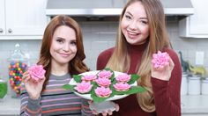 Rosanna Pansino & Meredith Foster: How to make Percy Jackson Lotus Flower Cookies