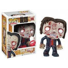 The Walking Dead Pop! Vinyl Figure Blood Splattered Tank Zombie [Fugitive Toys Exclusive] - Funko Pop! Vinyl - Category