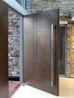 Resultado de imagen para puertas principales de casas minimalistas