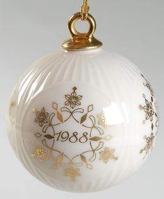 latest lenox christmas balls - Google Search