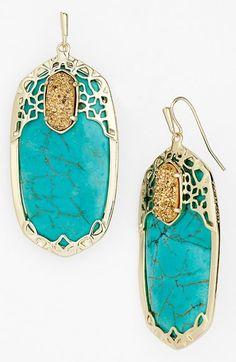 Kendra Scott 'Glam Rocks - Deva' Drop Earrings available at #Nordstrom
