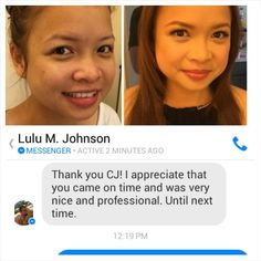 Thank you so much too Lulu and see you very soon. ;)  CJ Jimenez Hair and Make Up Artists Team: 1. Exceptional Portfolio 2. Consistent, More than A Thousand, Unsolicited and Real Time Positive Clients Feedback 3. Numerous Credentials:  Pond's Beauty Ambassador (1 of only 16 HMUAs in the Philippines) Bridal Make Up Artist of the Year- Top Brands Most Sought After Supplier / Top Booker for HMUA category- Weddings and Debut 2013 Image Consultant - Association of Image Consultants International…