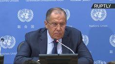 Conférence de presse de Lavrov à l'ONU... et ca fait mal ! (traduction pas top...) Facebook : http://ift.tt/2qmRFI2 Twitter : https://twitter.com/Nop_2022