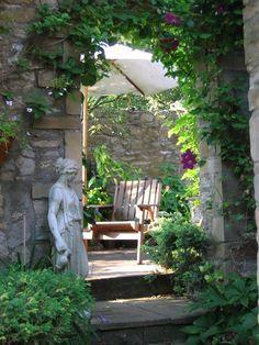 Our Outdoor Living and Landscape Portfolio - Eichenlaub Inc. Outdoor Rooms, Outdoor Gardens, Outdoor Living, Outdoor Decor, Dream Garden, Garden Art, Garden Design, The Secret Garden, Garden Statues