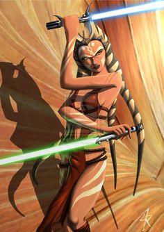 Ahsoka during the Empire by *Raikoh-illust on deviantART