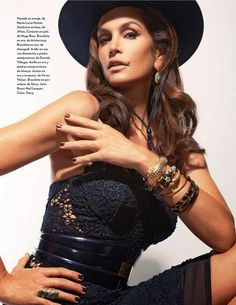cindy crawford marie claire cover | Smile: Marie Claire Mexico December 2013: Cindy Crawford by John Russo