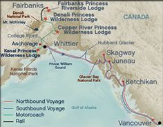 Our dream Alaska rail and cruise trip...three weeks of unparalleled beauty!