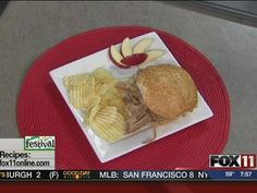 Slow Cooker Apple Bourbon Pulled Pork #recipe from WLUK FOX 11 Good Day Wisconsin Cooking with Amy Hanten. #recipes #video