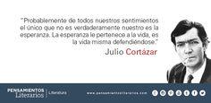 Julio Cortázar. Sobre la esperanza.
