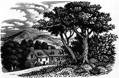 Reynolds Stone (English, 1909-1979). (wood engraving)