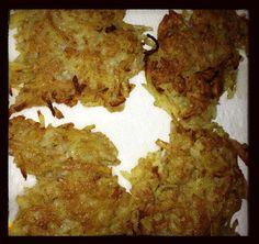 Latkes--fried and baked. Yummy