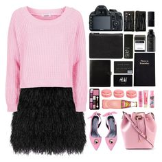 """""""bubblegum"""" by luizajarosa ❤ liked on Polyvore featuring Raoul, Topshop, Michael Kors, Zero Gravity, Forever 21, Aéropostale, ASOS, H&M, Leathersmith and NARS Cosmetics"""