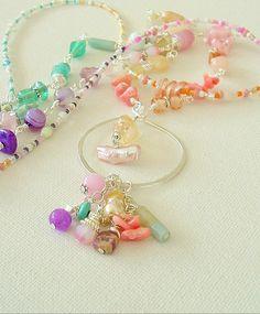 Boho Chic Necklace Gemstone Necklace Bohemian Hand by BohoStyleMe