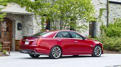 Седан Cadillac CTS-V 2016 / Кадиллак CTS-V 2016
