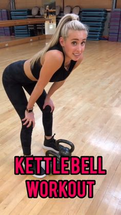 This full body kettlebell workout will help you sculpt or strengthen your body. It's perfect for beginners or advanced fitness people. Work up a sweat with this workout. Full Body Kettlebell Workout Source by ambrymehr Fitness Workouts, Sport Fitness, Fitness Goals, Yoga Fitness, At Home Workouts, Health Fitness, Shape Fitness, Training Fitness, Fitness Quotes