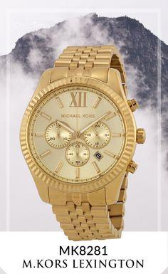 La montre Michael Kors MK8281 pour Homme est issue de la collection Lexington. Cette montre en acier inoxydable de couleur or est équipé d'un mouvement en quartz et un affichage analogique. En réduction à des prix incroyables sur Chic-Time.fr