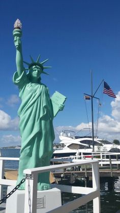 Lady Liberty on the west coast