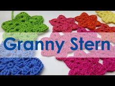 nadelspiel Adventskalender 2014 * 10. Dezember * Granny Stern häkeln - YouTube
