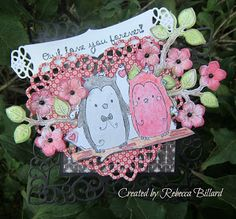 Rebecca from The Rock Crafty Corner: Anniversay Card