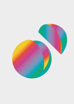 """visualgraphc: """" A Piece of Rainbow, Sergi Delgado """""""