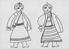 Jocuri pentru copii mari şi mici: Fise de colorat educative de 1 decembrie Romania, Puppets, Decorative Bells, Disney Characters, Fictional Characters, Embroidery, Disney Princess, Day, Kids