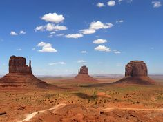 Hiking on the Colorado Plateau, Calendar Sheet July: Monument Valley: Wildcat Trail