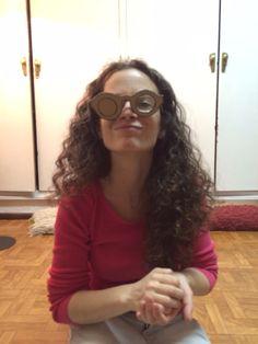 Eva Egido en pleno proceso creativo.