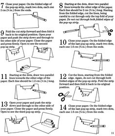 Welcome to Dover Publications How to Make Super Pop-Ups
