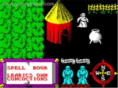 In game image of Feud on the Sinclair ZX Spectrum. Games Images, View Video, Gaming Computer, Games To Play, Childhood Memories, Spectrum, Retro, Mars, Consoles