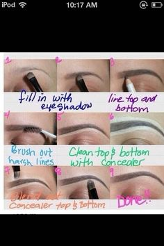 How To Fill in Eyebrows perfectly