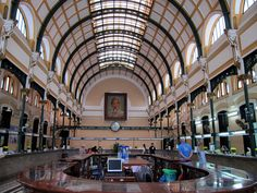 Central Post Office, Ho Chi Minh City, by Alexandre Gustave Eiffel Gustave Eiffel, French Colonial, High Rise Building, Ho Chi Minh City, Hanoi, Post Office, Holiday Travel, Small Towns, Cathedral