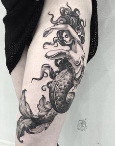 Siren tattoo