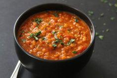 Turkse soep met linzen
