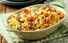 Kuskus se zeleninou Frittata, Fried Rice, Pesto, Menu, Vegetables, Ethnic Recipes, Food, Spiritual, Menu Board Design
