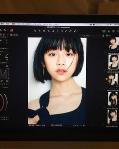 Asian Woman, Asian Girl, Asian Bangs, Korean Short Hair, Girl Short Hair, Chinese Model, Girl Style, Bob Hairstyles, Boy Or Girl