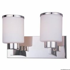Z-Lite 313-2V-CH Cosmopolitan 2 Light Vanity Chrome by Z-Lite. $119.98. 313-2V-CH Finish: Chrome Features: -Vanity light.-Available in Brushed Nickel or Chrome.-Material: Metal frame / Glass shade. Specifications: -Accommodates: 2 x 60W medium base incandescent bulbs. Dimensions: -Overall dimensions: 9.75'' H x 13'' W x 7'' D. Collection: -Cosmopolitan Collection.. Save 20%!