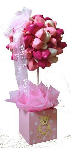 Baby Girl Balloon Tree