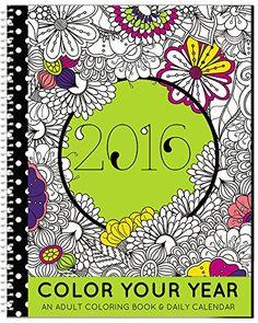 "2016 Calendar - ""Color It"" Adult Coloring Planner - Designer Organizer 8.5"" x 11"" Planning Calendar and Coloring Book SDI Inc. http://www.amazon.com/dp/B017DJRAXU/ref=cm_sw_r_pi_dp_6O7Kwb0RVN666"