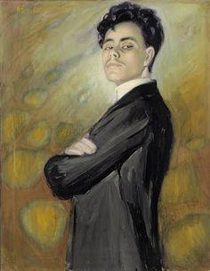 """""""Self-portrait"""", Valle Rosenberg 1910 Gustav Klimt, Art Google, Les Oeuvres, New Art, Art Museum, Contemporary Art, Culture, Artwork, Painting"""