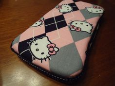 Hello Kitty Travel Wipes Case by CutesyCloth on Etsy, $10.00