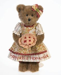 """Cherry Bakerly by Boyds : Boyds """"Dressed"""" Bears : Kozy Clutter"""