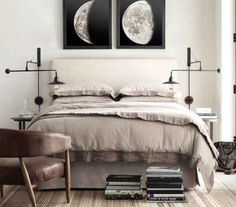 'Minimal Interior Design Inspiration' is a biweekly showcase of some of the most perfectly minimal interior design examples that we've found around the web - Cotton Bedding Sets, King Bedding Sets, Grey Bedding, Linen Bedding, Luxury Bedding, Interior Design Examples, Interior Design Inspiration, Modern Interior, Bedroom Art